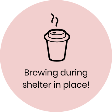 Brewing during shelter in place!